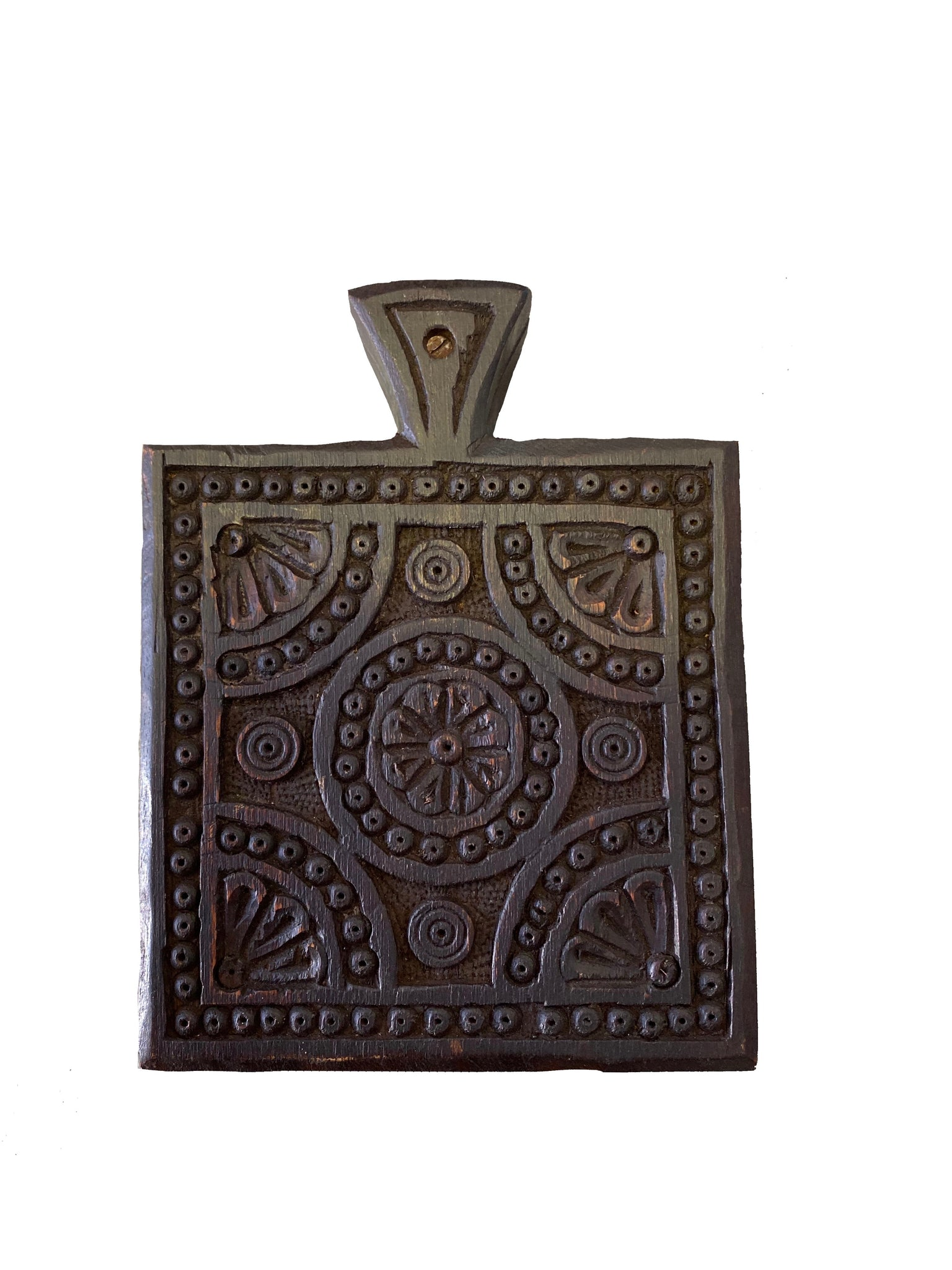 Spices of Africa - Carved Spice Box - Global Goddess Homewares