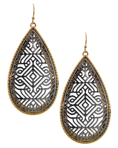 Jewel of Zambia (Silver) - Earrings - Global Goddess Homewares