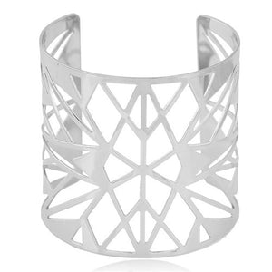 Amhara Tribe - Silver Cuff - Global Goddess Homewares