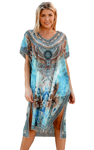 Navajo Princess - Kaftan Dress - Global Goddess Homewares