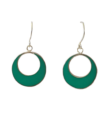 Emerald Sea of Balangan - Earrings - Global Goddess Homewares