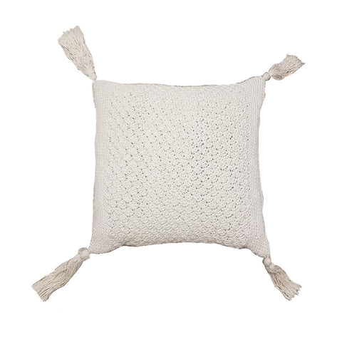 Pina Colada's at Kori's - Macrame Cushion - Global Goddess Homewares