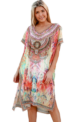 Sunset in Egypt - Kaftan Dress - Global Goddess Homewares