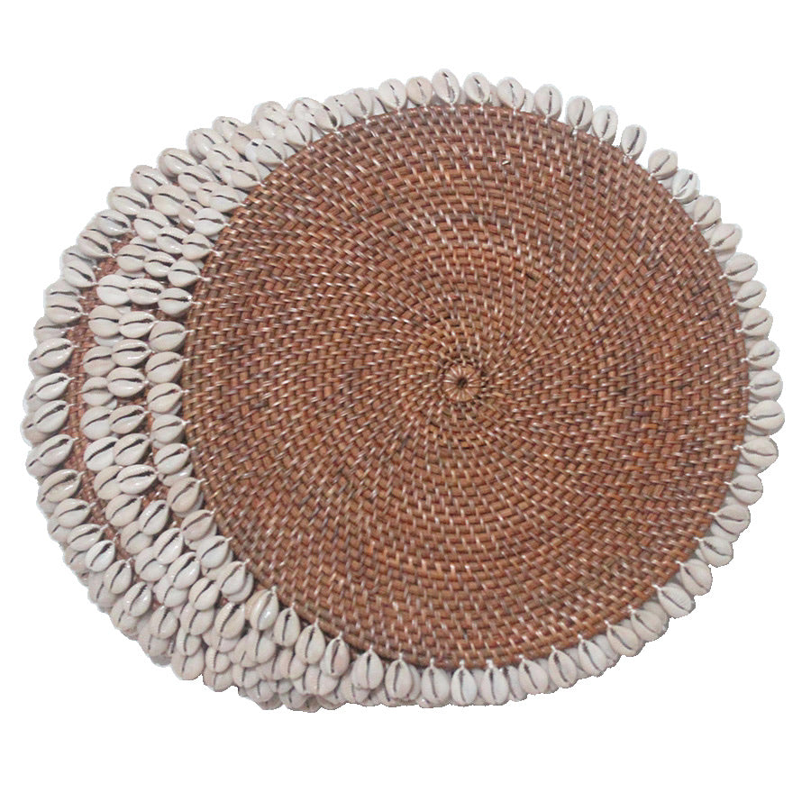 Uluwatu Sea Tribe - Rattan Table Mat - Global Goddess Homewares