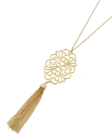 Evening in Marrakesh - Long Necklace - Global Goddess Homewares