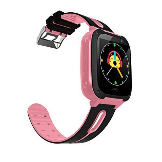 Waterproof Kids Smart Watch Micro SIM Card Call  Tracker Child Camera Anti-lost Position Alarm Smart Watch