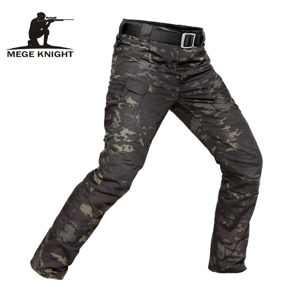 MEGE Brand Tactical Camouflage Military Casual Combat Cargo Pants Water Repellent Ripstop Men's 5XL Trousers  Spring Autumn