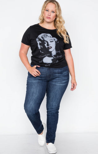 PRE-ORDER ONLY Graphic Marilyn  T-Shirt