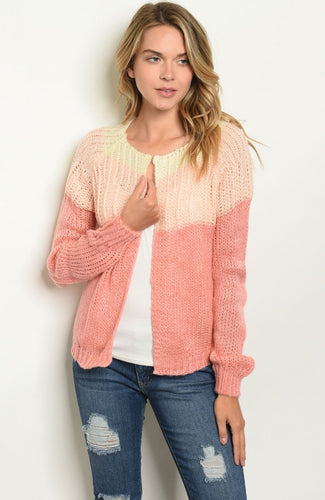 **RESTOCKED I'm Yours Color Block Cardigan
