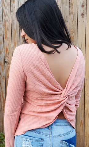 Twisted Back Tunic