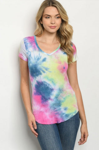 Day Dreaming TIE DYE TUNIC XS-3XL - Rural Aura