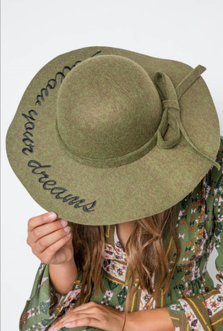 Olive Follow Your Dreams Hat - Rural Aura