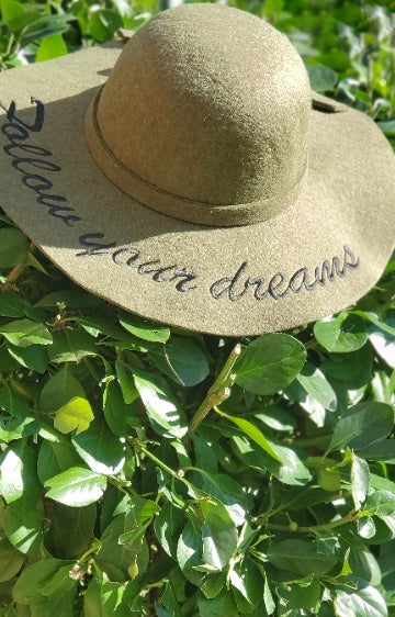 Olive Follow Your Dreams Hat
