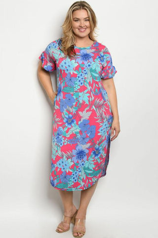 Spring Ready Curvy Midi Dress