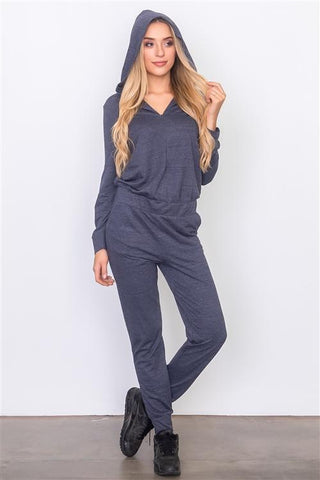 Navy Jumpsuit Womens