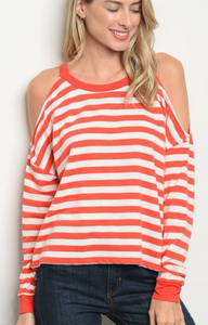Bittersweet Cold Shoulder Tunic