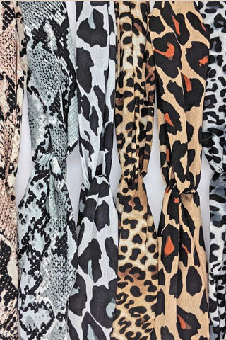 Animal Print Headbands: Assorted Colors