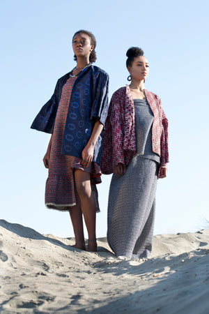 Shurugwi Dress and Kwe Kwe Coat
