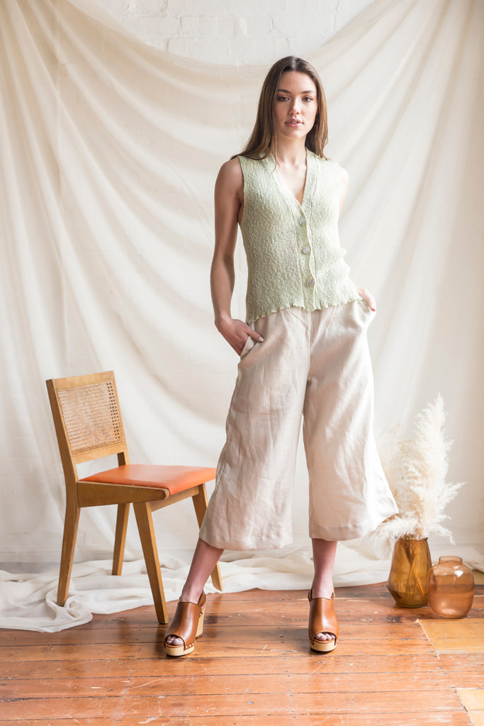 Kariba Knit Top and Lounge Culottes