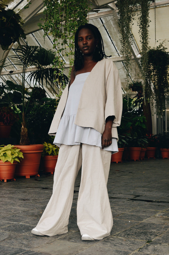 Studio Jacket, Keita Skirt and Seydou Flares