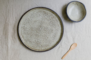 The Lilford Woods Textured Platter Set
