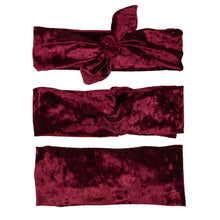 Load image into Gallery viewer, Burgundy Velvet