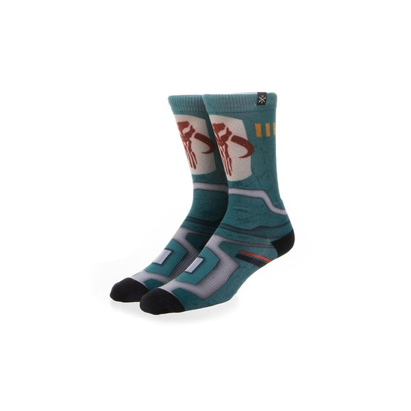 Star Wars Boba Fett Mens 360 Crew Socks