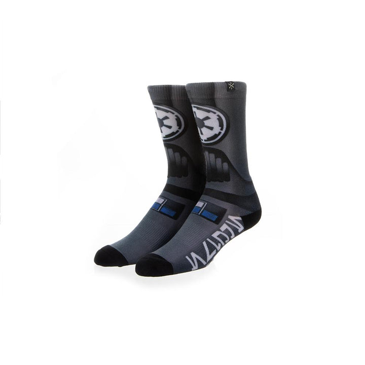Star Wars Tie Fighter Pilot Mens 360 Crew Socks
