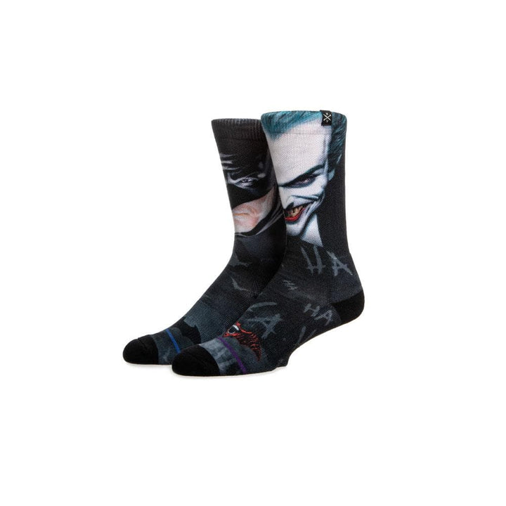 Batman & Joker Men's 360 Crew Socks
