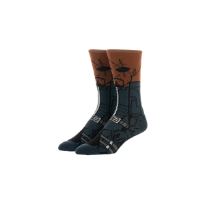 Marvel Avengers Commander Fury Crew Socks