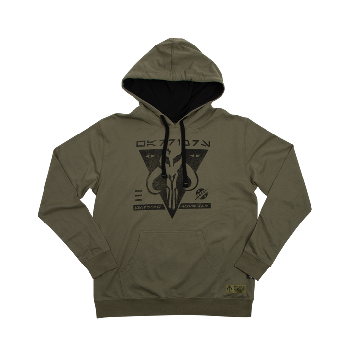 Warriors of Mandalore Olive Hoodie