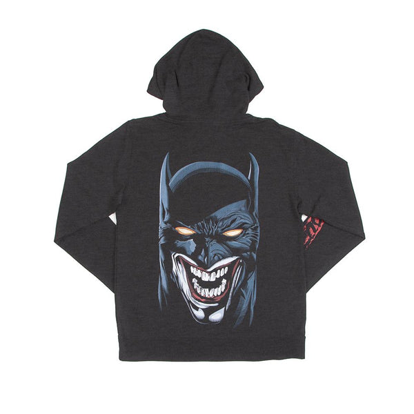 Batman & Joker Joke's On You Charcoal Hoodie