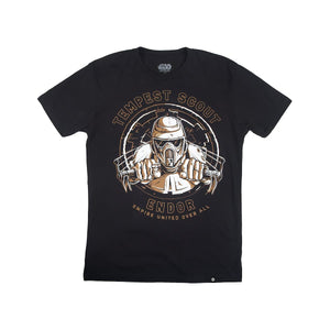 Star Wars Endor Tempest Scout Black Tee