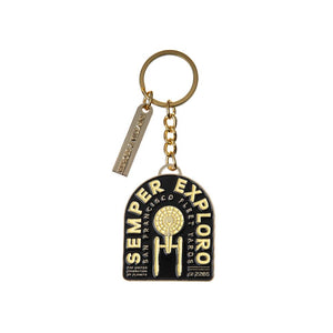 Star Trek Federation Semper Exploro Keychain