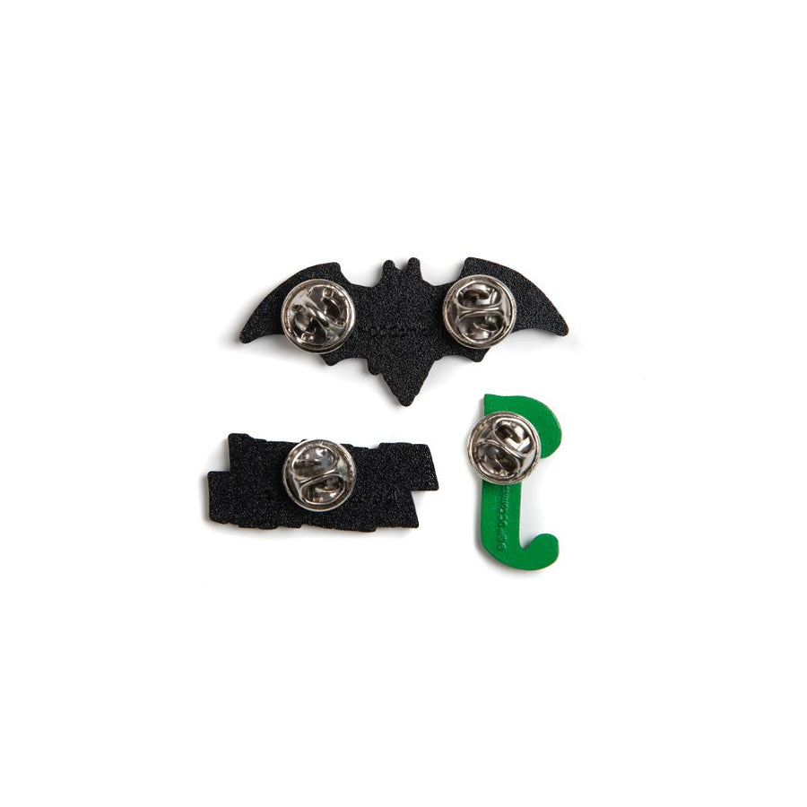 Batman & Joker Lapel Pin Set