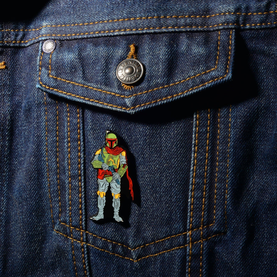 Star Wars Boba Fett Lapel Pin