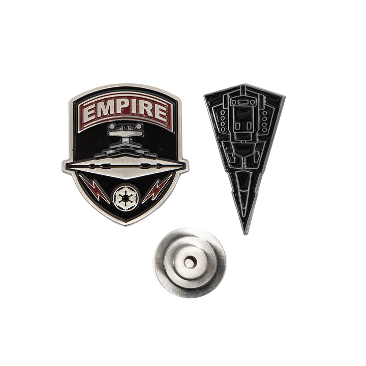 Imperial Fleet Lapel Pin Set