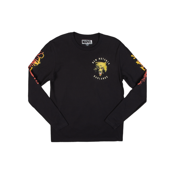 New Mutants Badlands Black Long Sleeve