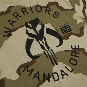 Star Wars Warriors of Mandalore Camo Long Sleeve Tee