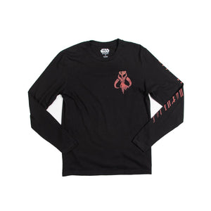 Exclusive The Mandalorian Black Long Sleeve Tee