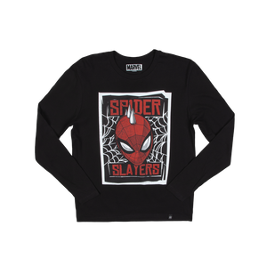 Spider Slayers Poster Black Long Sleeve