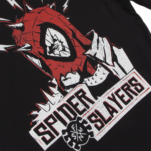 Spider Slayers Black Long Sleeve