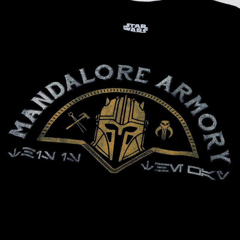 Star Wars Mandalore Armory Black Long Sleeve