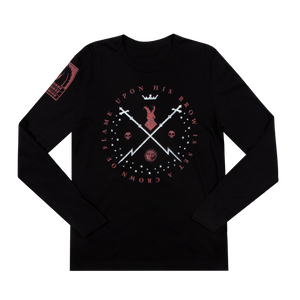 Hellboy Crown of Flame Black Long Sleeve