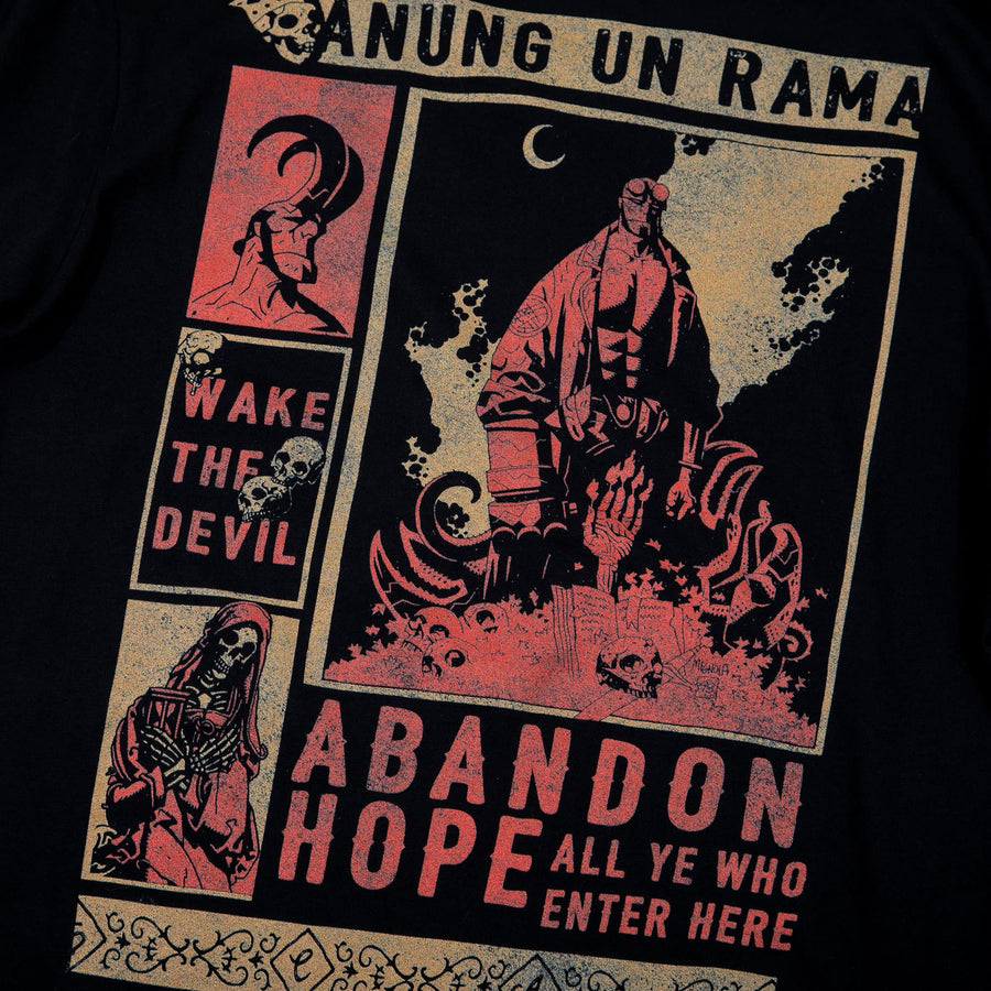 Hellboy Abandon Hope Black Long Sleeve