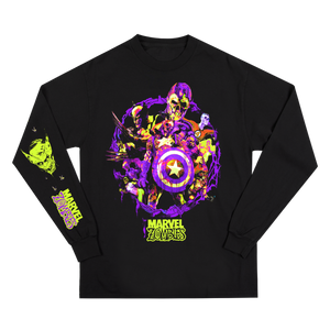 Marvel Zombies Black Long Sleeve