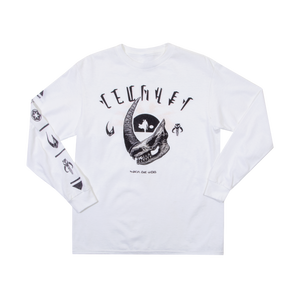 Mudhorn Trophy White Youth Long Sleeve