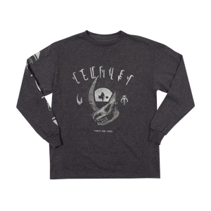 Mudhorn Trophy Charcoal Youth Long Sleeve