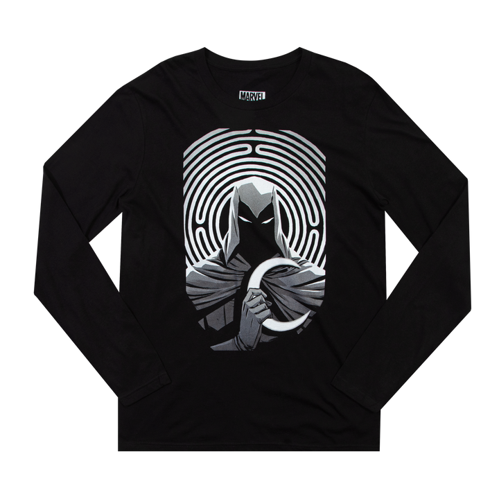 Moon Knight Black Long Sleeve