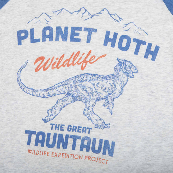 Star Wars Planet Hoth Expeditions Raglan
